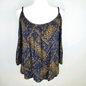 One Clothing L paisley top